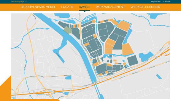 digibastards - webdevelopment - portfolio - bedrijvenparkmedel