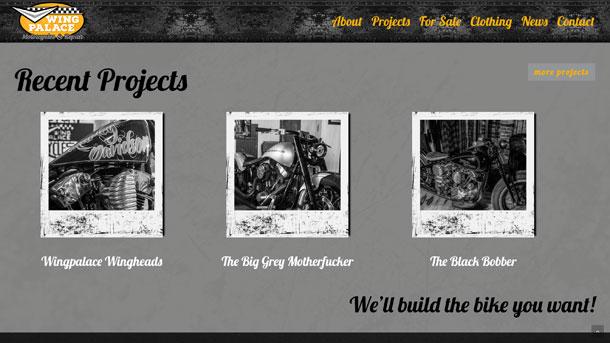 digibastards - webdevelopment - portfolio - Wingpalace